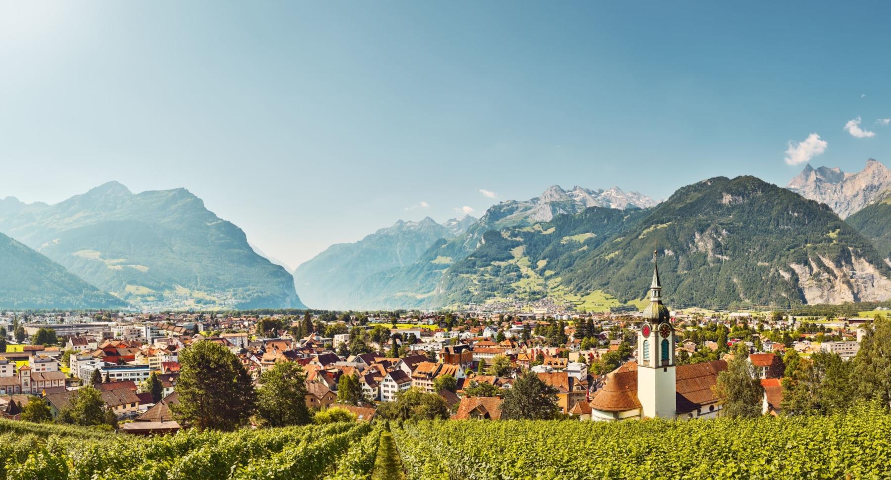 Altdorf, Blick vom Kloster
